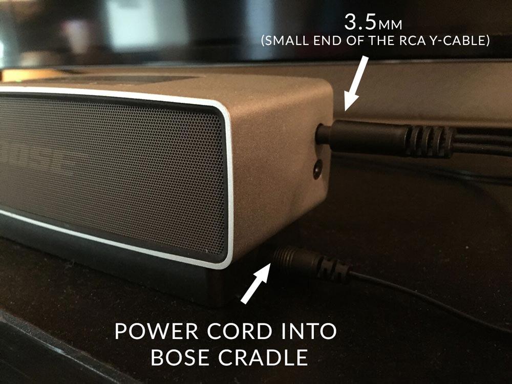 How do you hook up a rca sound bar